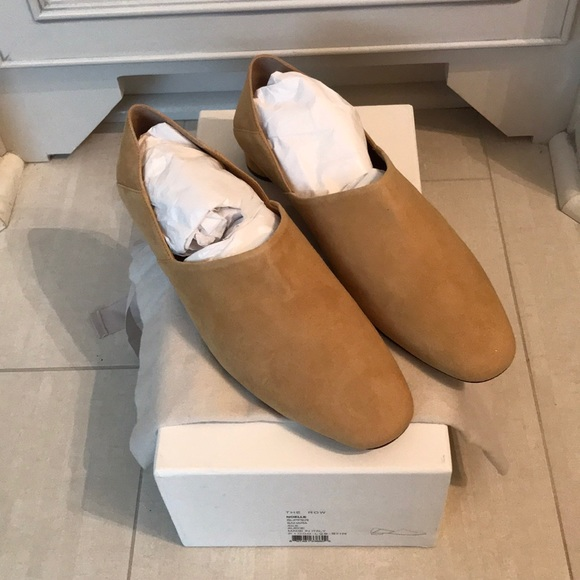 02e2f689ae0 Brand new The Row Noelle suede loafer